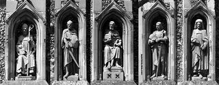 All-saints-statues