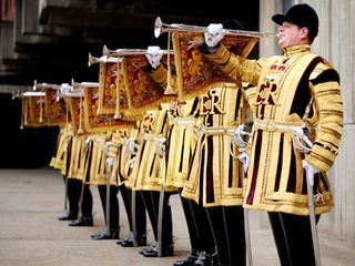2-_royal_wedding_trumpeters