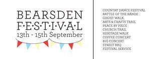 Bearsden Festival Banner for print 6x21
